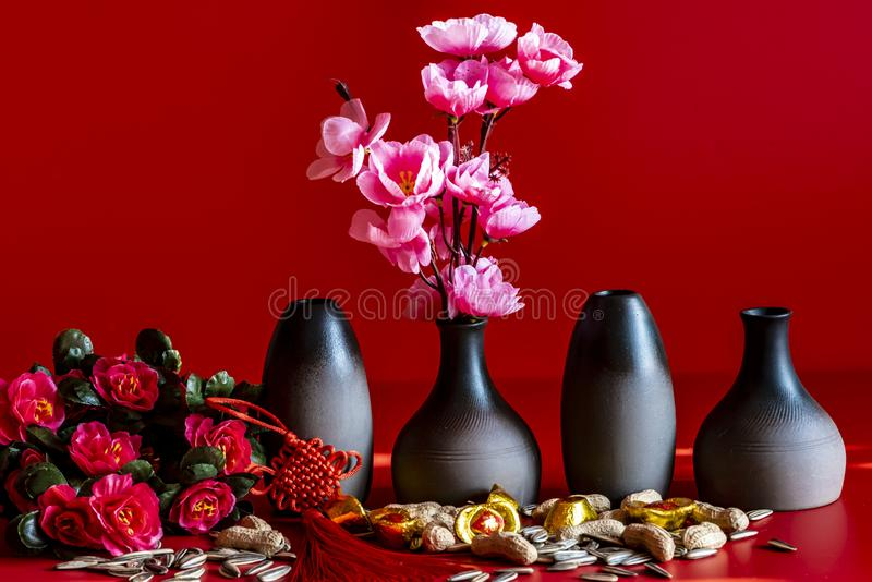 Chinese New Year still life. Chinese new year - still life royalty free stock images