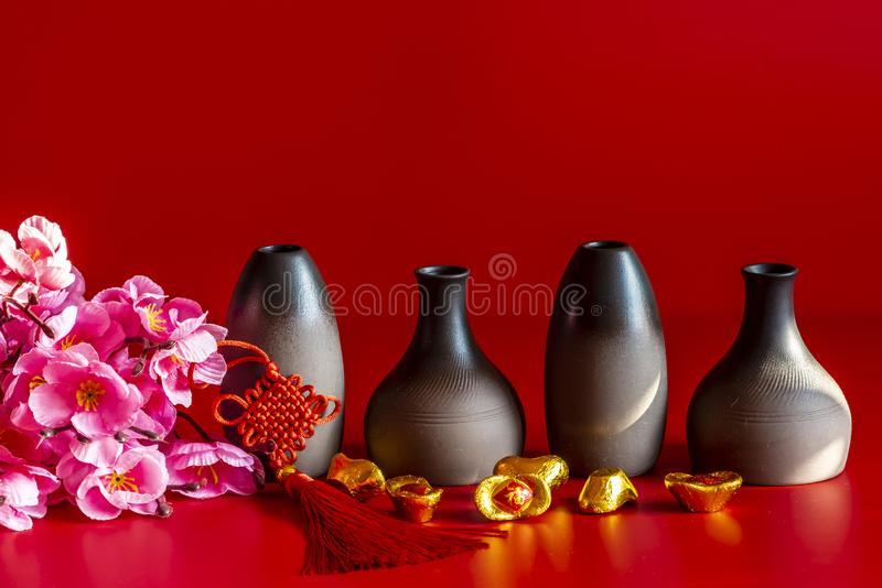 Chinese New Year still life. Chinese new year - still life stock photos