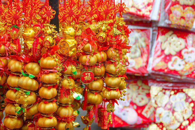 Chinese New Year Talisman Gift Decoration For Celebrate ...