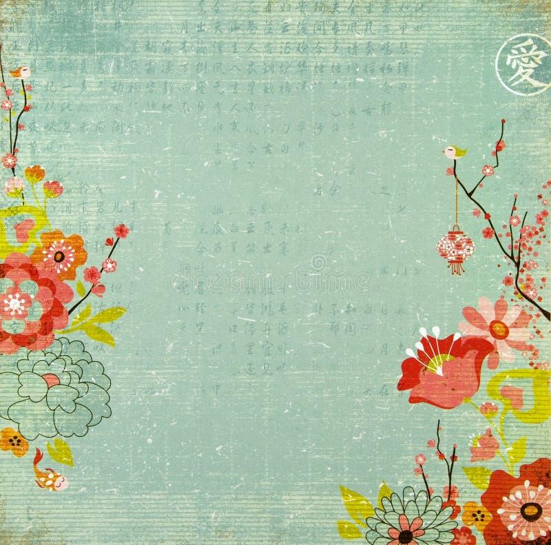 Chinese nieuwe jaarachtergrond royalty-vrije stock foto's