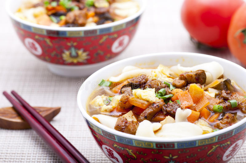 Download Chinese noodle stock image. Image of bowl, chopped, course - 23934315