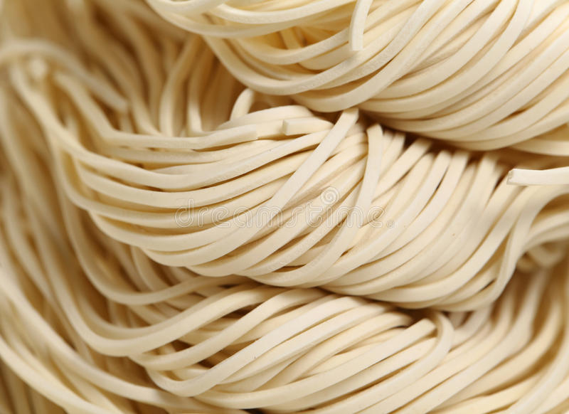 Chinese Noodle,uncook Royalty Free Stock Photo