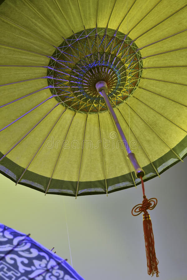 Download Chinese oil-paper umbrella stock image. Image of colorful - 21523791