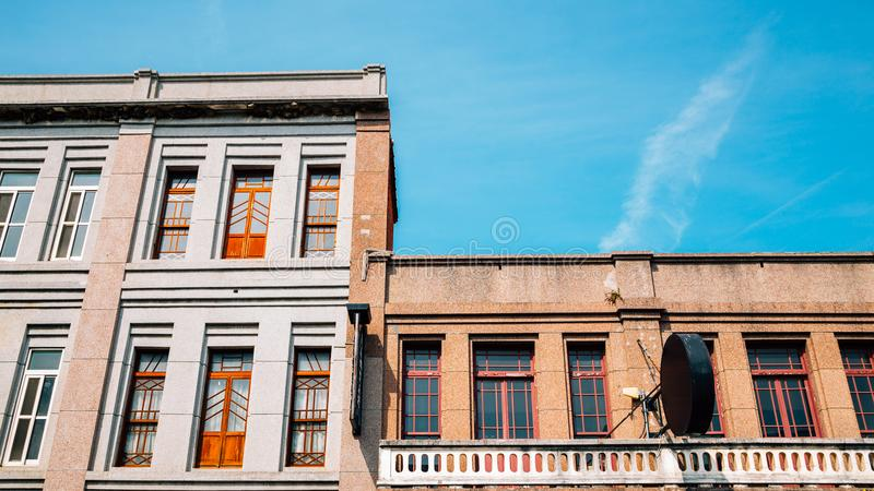 Old buildings in Lukang, Taiwan. Chinese old buildings in Lukang, Taiwan stock image