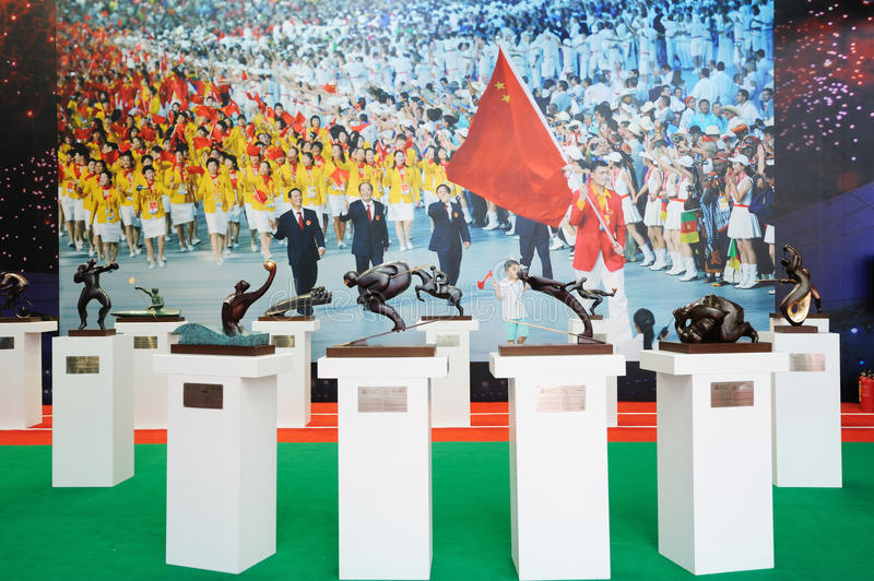 Download Chinese Olympic Committee Stand Editorial Photo - Image: 19525256