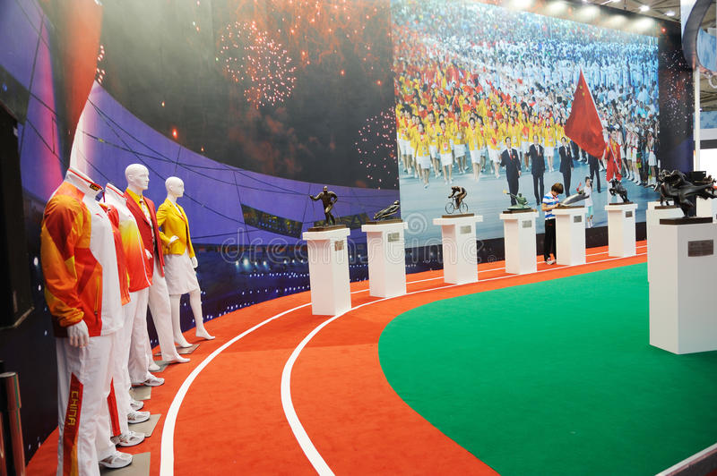 Download Chinese Olympic Committee Stand Editorial Image - Image: 19674550
