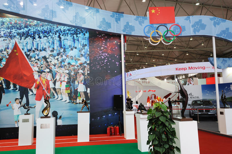 Download Chinese Olympic Committee Stand Editorial Stock Image - Image: 19678634