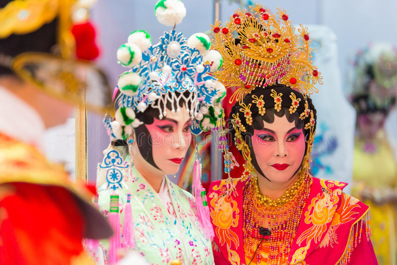 Chinese operas stock image