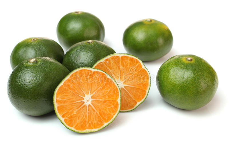 Chinese oranges stock images