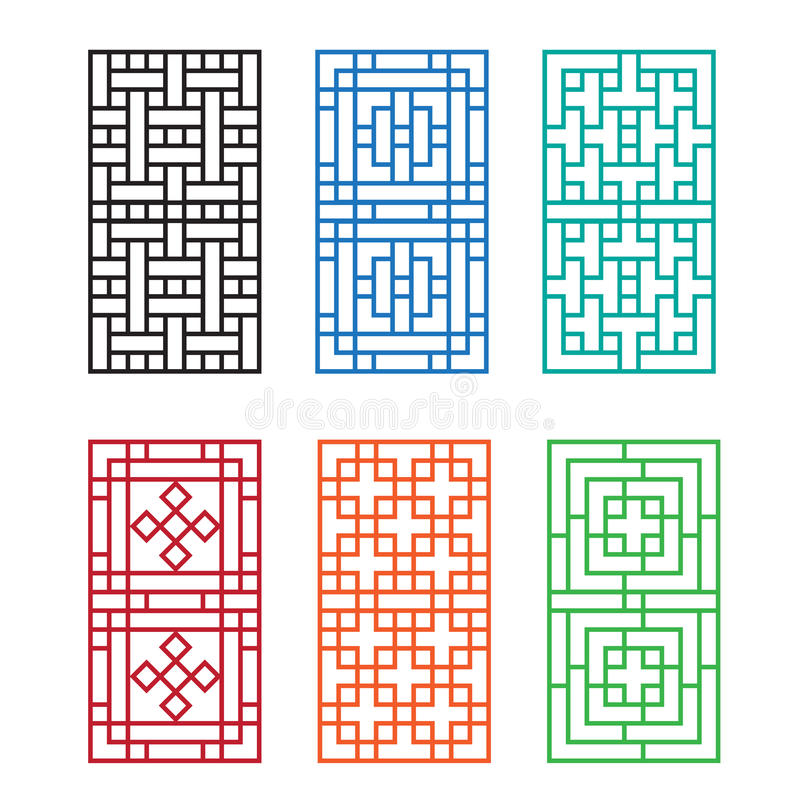 Chinese Fence Design Chinese ornament for door window wall and fence stock vector download chinese ornament for door window wall and fence stock vector illustration of workwithnaturefo