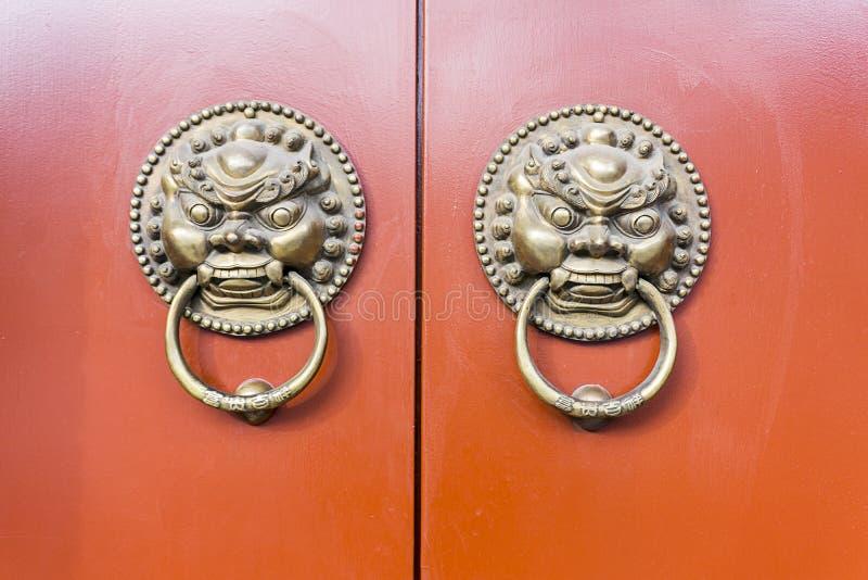 Chinese oude deur stock foto's