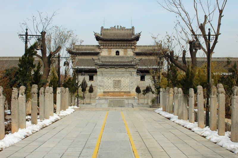 Chinese oude gebouwen stock foto's