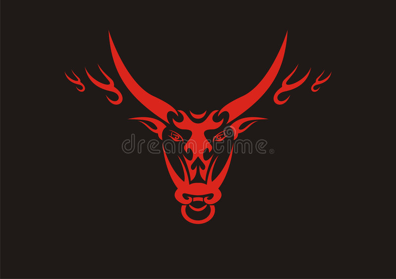Chinese ox,symbol of 2009 year