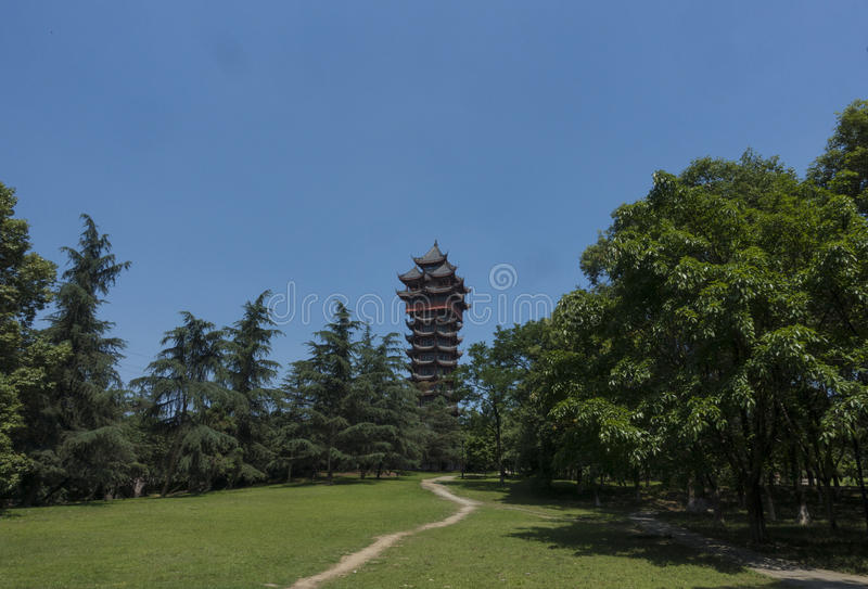 Chinese pagoda stock photos