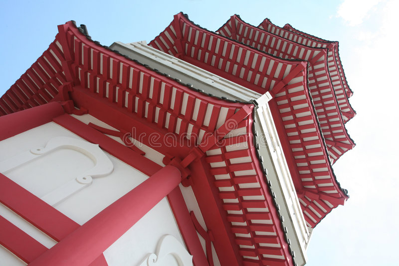 Chinese pagode stock foto