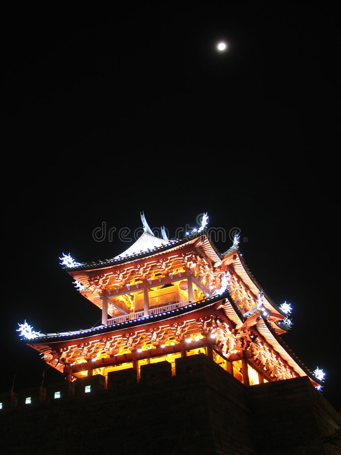 Chinese Pagode royalty-vrije stock afbeeldingen