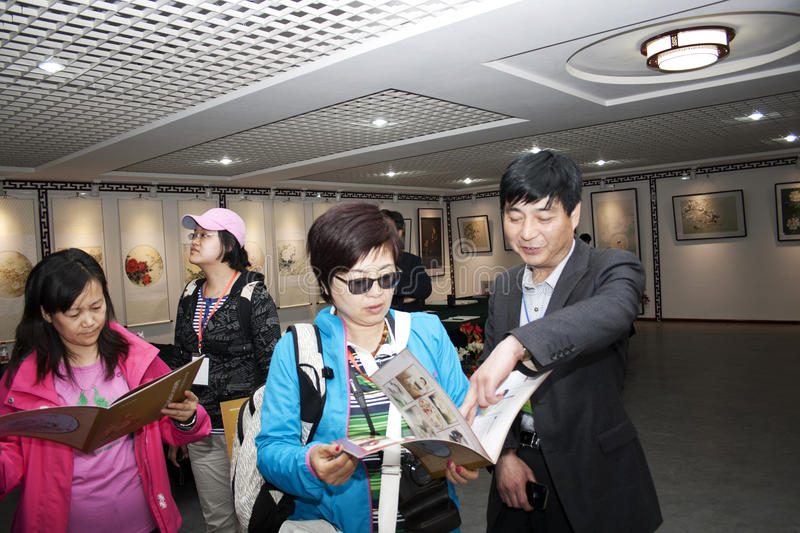 Download Chinese Painting Exhibition Editorial Photography - Image: 25987277