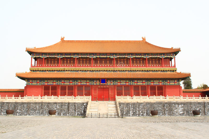 Chinese palace stock photo image of brick history for Architecture chinoise