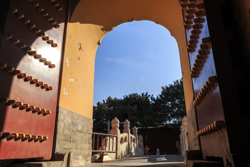 chinese Palace gate stock photography