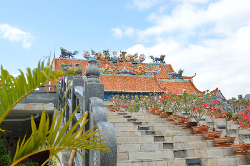 Chinese palace royalty free stock photos