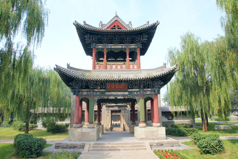 Download Chinese pavilion stock photo. Image of archaic, tower - 26799096