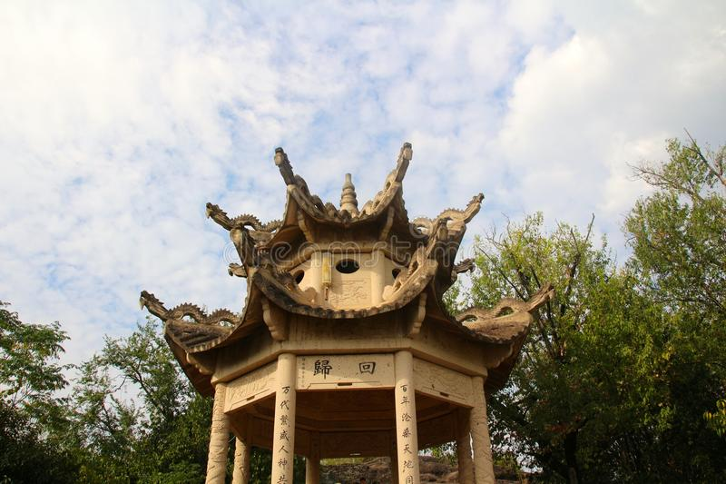 Chinese pavilion royalty free stock photography