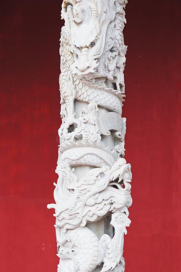 Chinese pillars royalty free stock photo