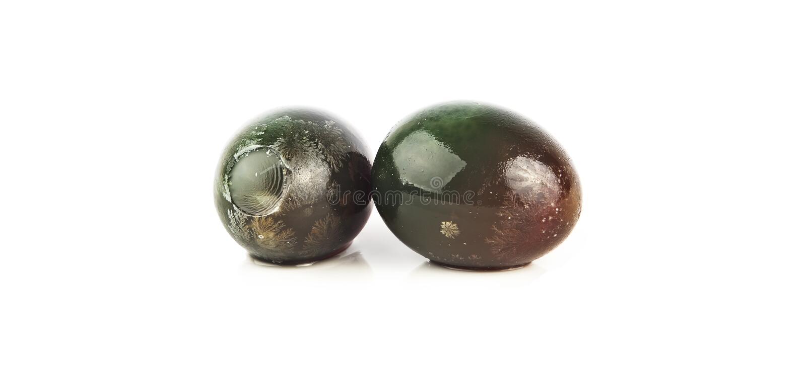 Chinese preserved egg royalty free stock images