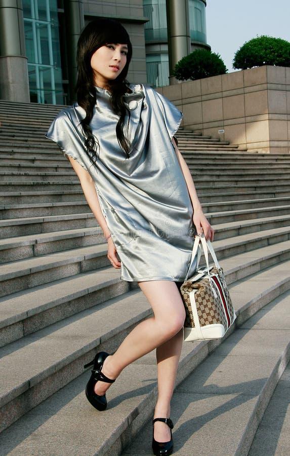 Chinese professionele modellen royalty-vrije stock afbeeldingen