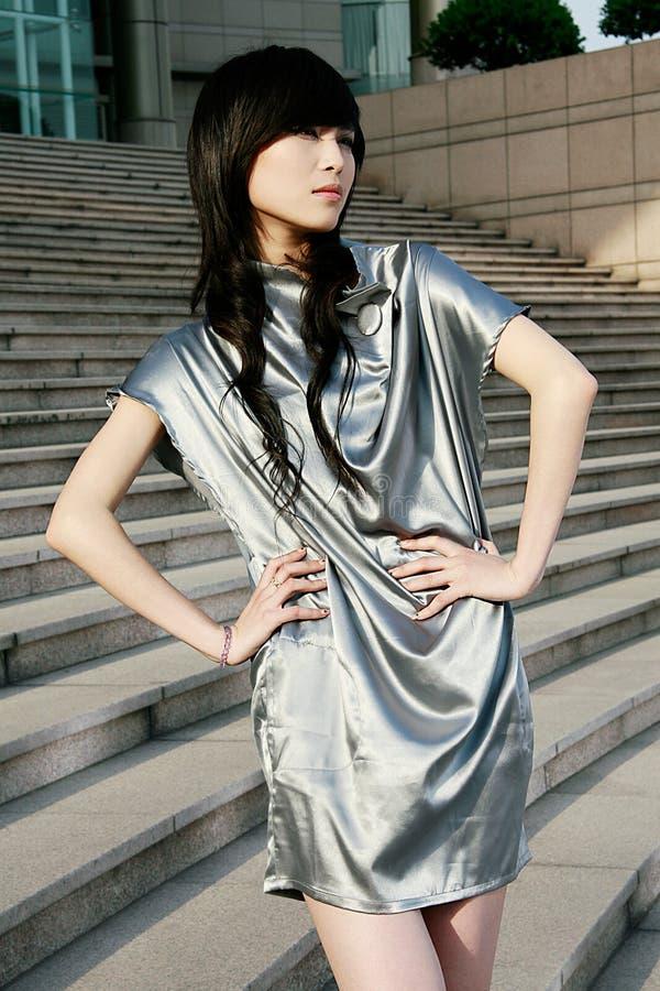 Chinese professionele modellen royalty-vrije stock afbeelding