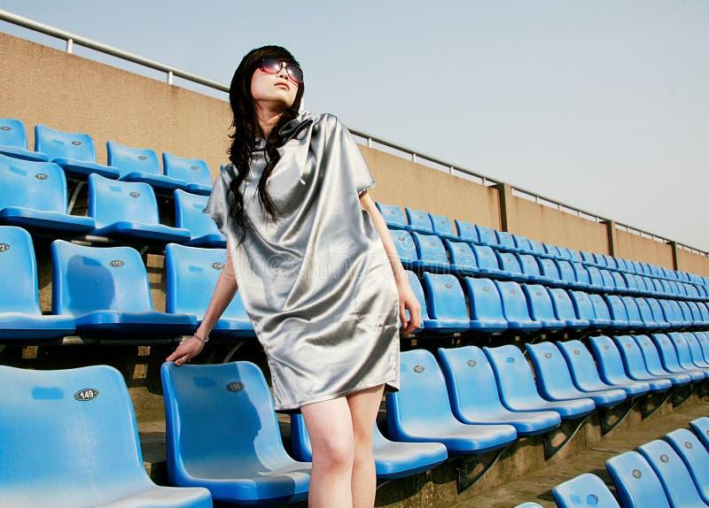 Chinese professionele modellen stock fotografie