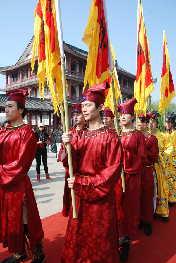 Download Chinese Qingming Festival Public Memorial Ceremony Editorial Stock Image - Image: 24146749