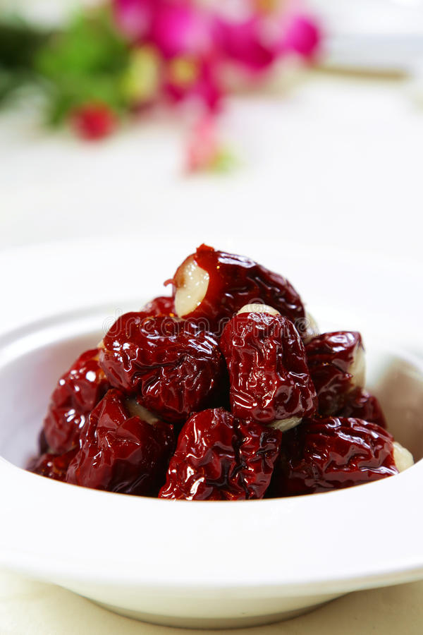 chinese red date royalty free stock photos