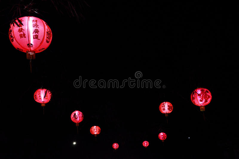 Chinese Red Lampion Royalty Free Stock Images