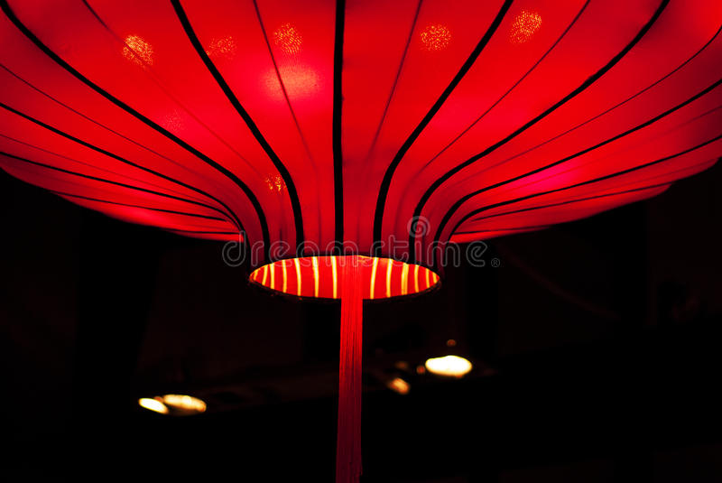 Chinese red lantern. For festival royalty free stock image