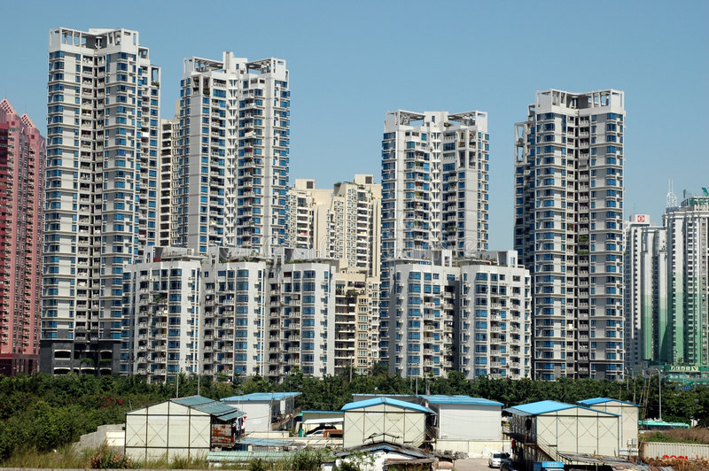 Download Chinese Residential Area Royalty Free Stock Images - Image: 5659689