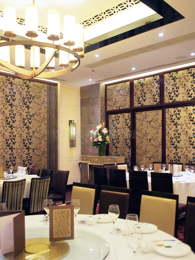 Download Chinese restaurant stock image. Image of chair, table - 15695447
