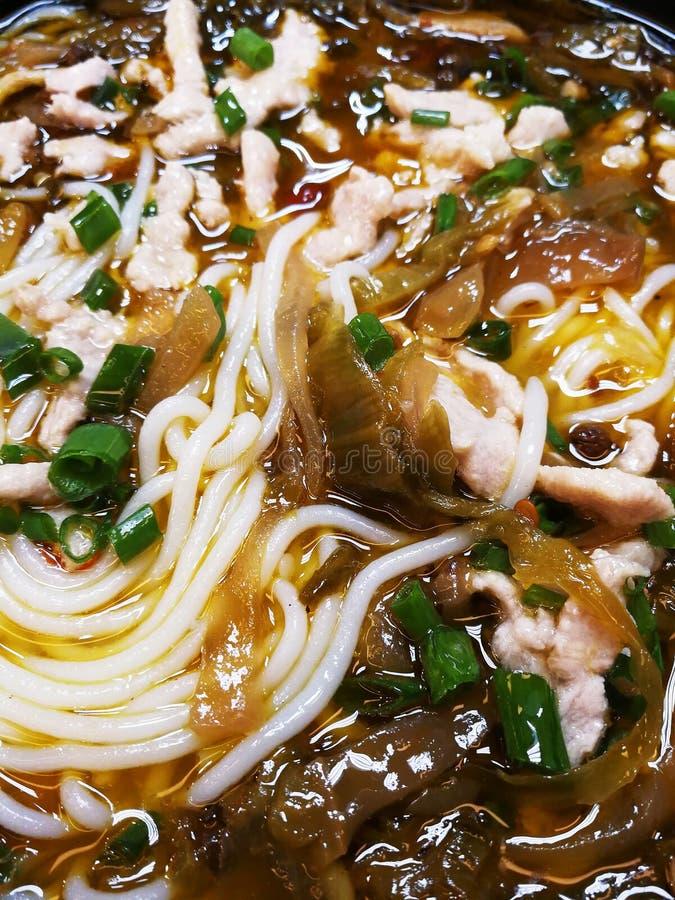 Chinese rijstnoedels royalty-vrije stock foto
