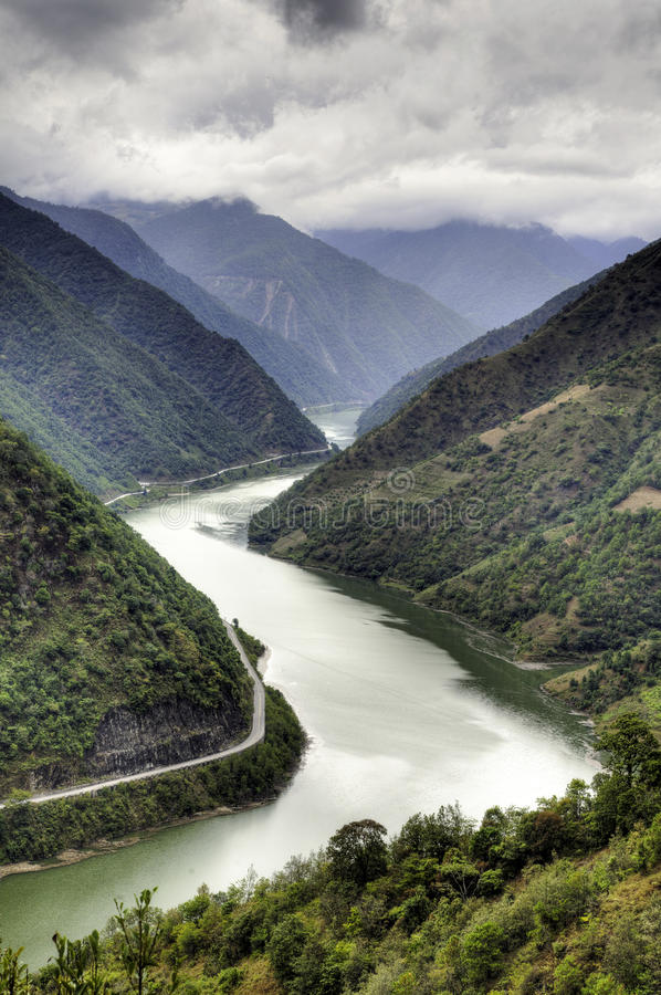 Download Chinese River Valley stock photo. Image of mountains - 27792224
