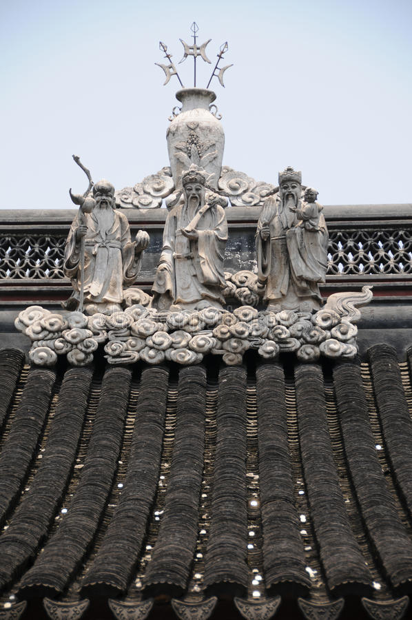Free Chinese Roof Stock Photos - 10924873