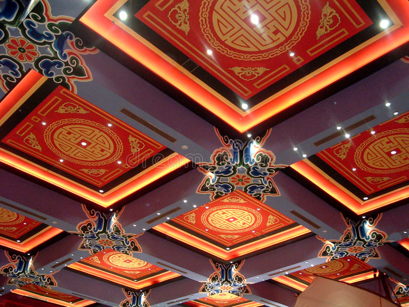 Download Chinese Roof design stock image. Image of artistic, modern - 142407