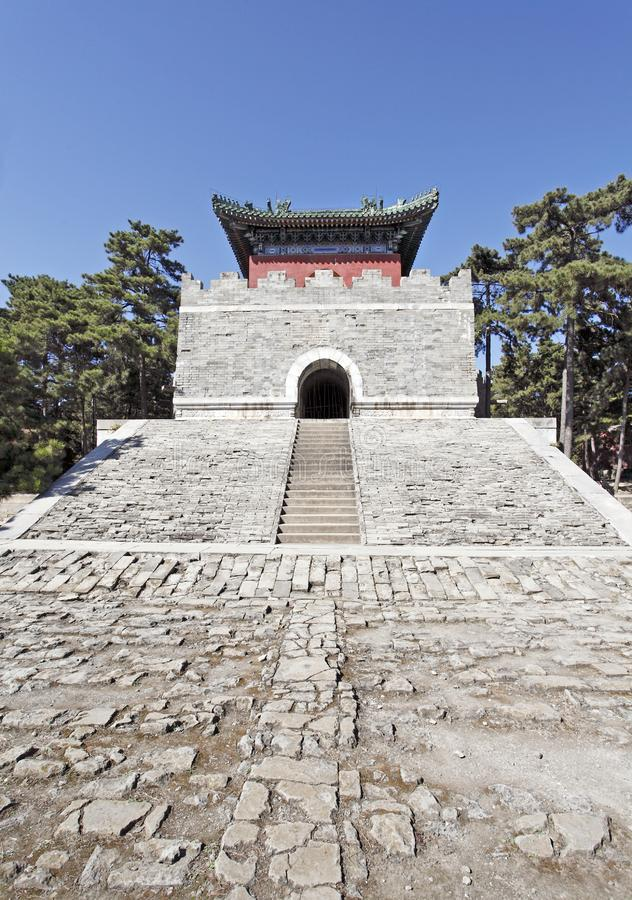 Download Chinese Royal Mausoleum. stock photo. Image of building - 21438218