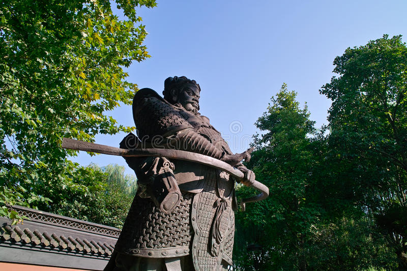 Download Chinese sculpture stock photo. Image of blue, history - 25922468