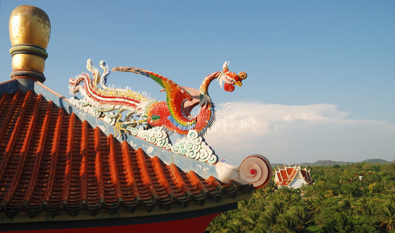 Chinese Sculpture Of The Stock Image