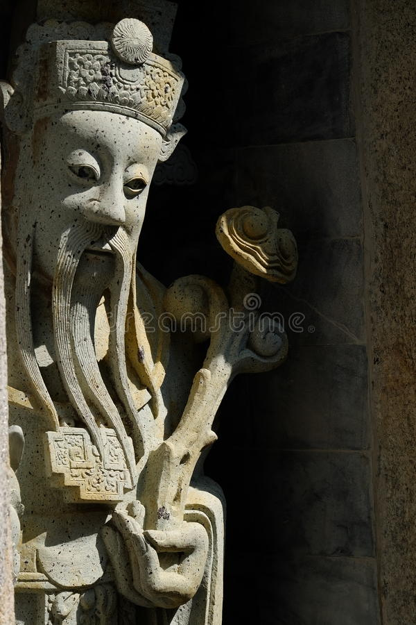 Chinese sculptures in temple . Chinese sculptures in temple.Bangkok Thailand stock photography