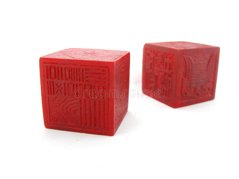 Chinese Seals stock photography