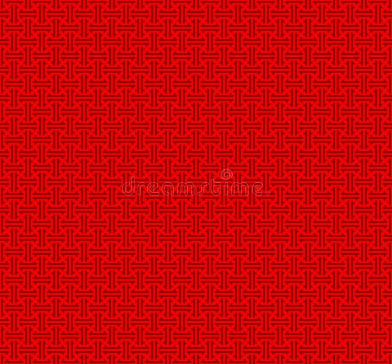 Chinese seamless pattern royalty free illustration