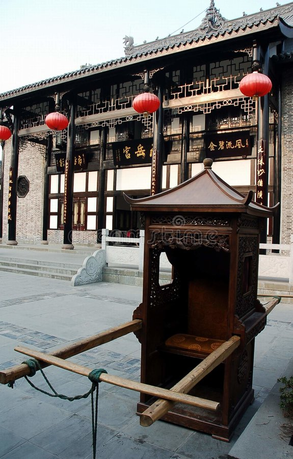 Download Chinese sedan chair stock image. Image of china, ancient - 1532847