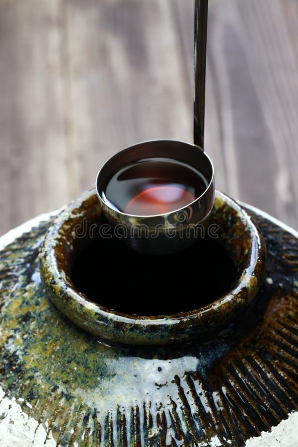 Free Chinese Shaoxing Rice Wine In Classic Ceramic Jar Royalty Free Stock Image - 119985106