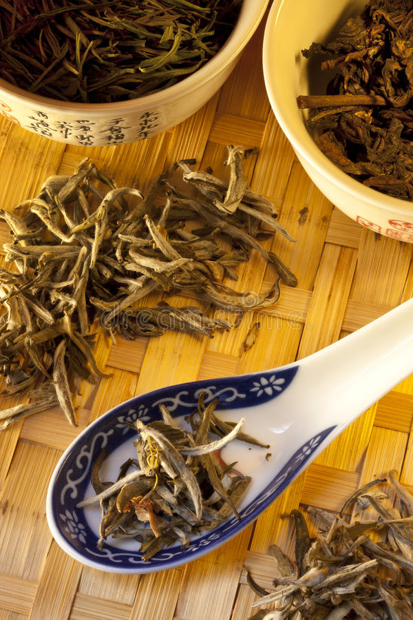 Chinese Silver Needle Tea royalty free stock images
